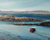 Red boat near Arisaig- FOR SALE